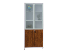 Hot Movable Lockable Wooden Office File Cabinet System for Document Storage