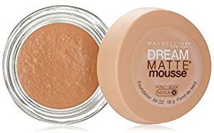 Maybelline Dream Matte Mousse Foundation – Honey Beige (Medium 4)