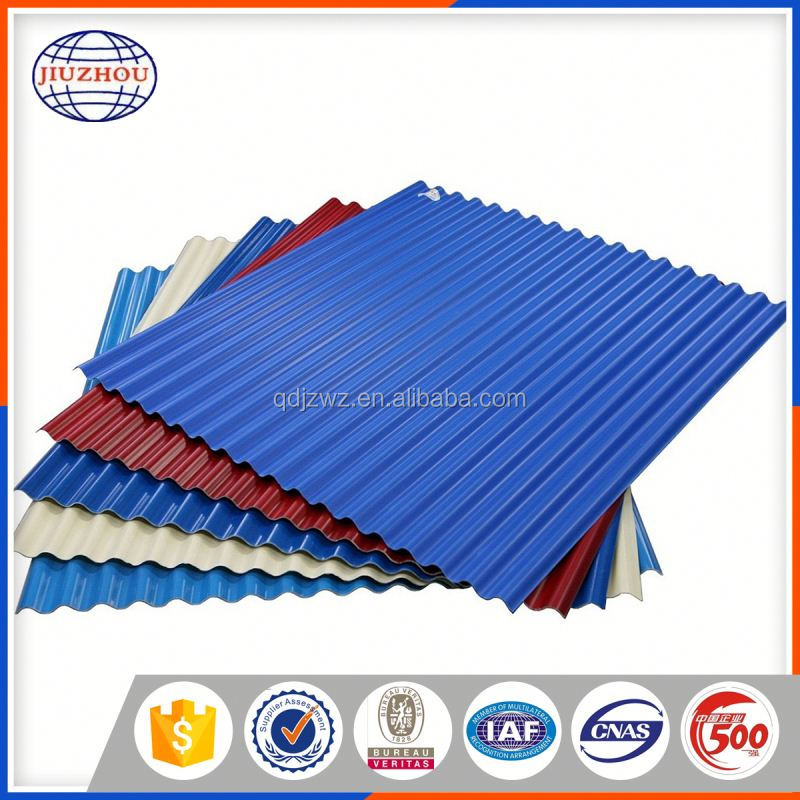 Warehouse Zinc Coated Roofing Material Steel Sheet