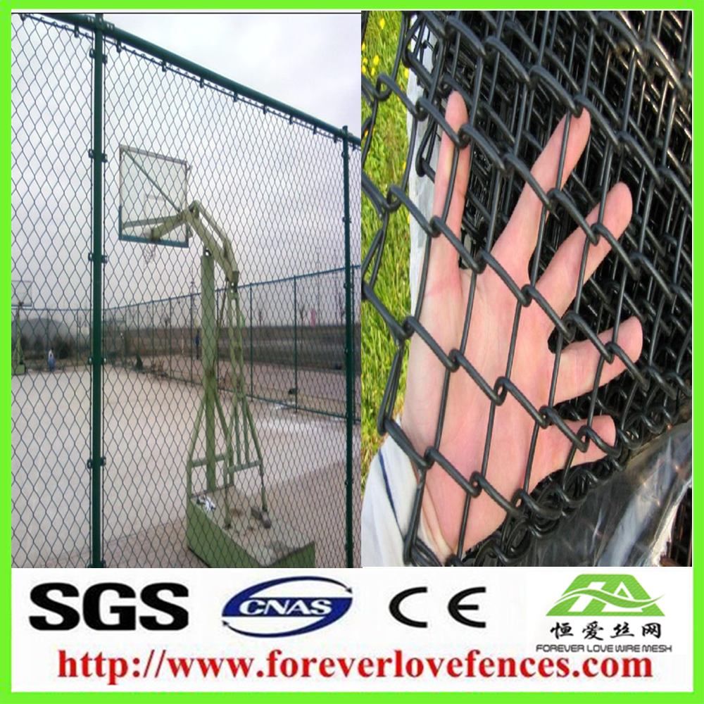 China New design cheap lead free chain link fence with low price