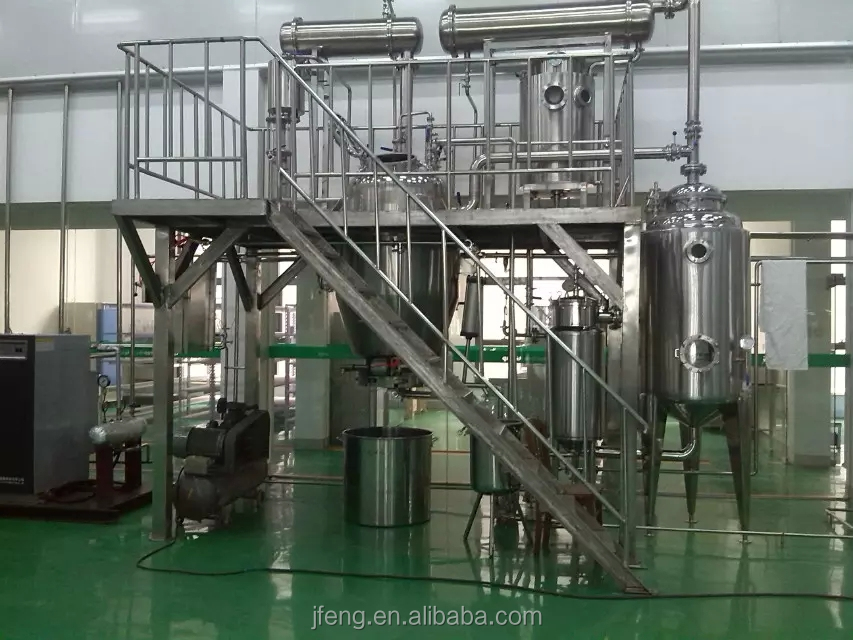 2000L herbal extraction and concentration equipments unit