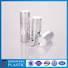 Beautiful design with a mirror acrylic bottle, airless pump bottle for cosmetic packaging