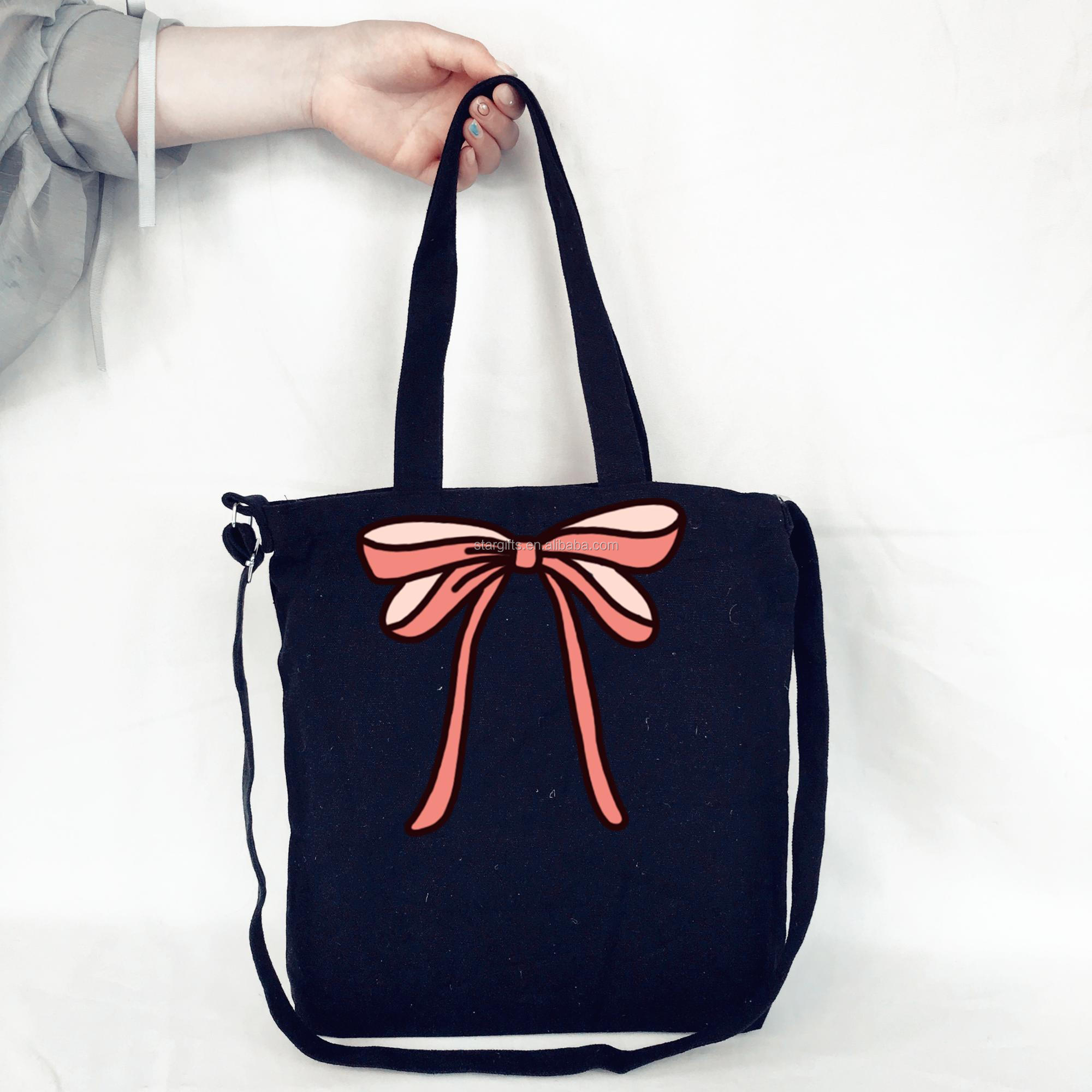 China Factory Designer Cheap Zipper Wholesale Wholesale Big Shopping Bag