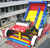 Big Amusement Park Adult and Kids Inflatable Truck Slide