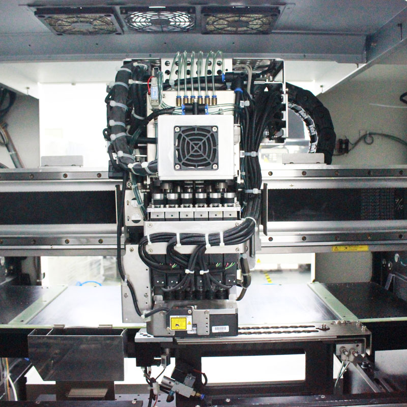 SMT Full Automatic High Speed pick and place machine  JUKI Chip Mounter  JX 300 Led