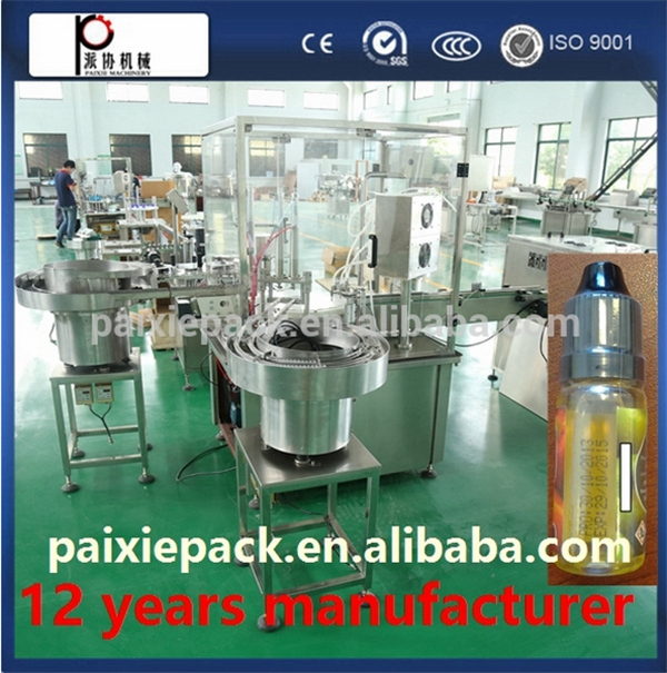 Fully automatic 3 in 1 plastic vial eye drops filling machine