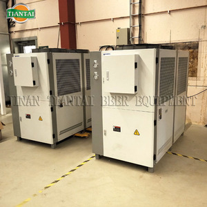 Glycol cooling system for microbrewery
