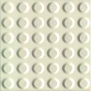 Yellow tactile indicators/round dot/Integrative Detectable Warning Tactiles ceramic tiles for disable people