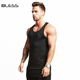 Wholesale Men's Sleeveless Muscle Tank Tops Men Soft Breathable Vest Or Singlet