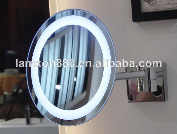 3X Hotel lighting LED magnifying mirror.jpg 640x640xz Résultat Supérieur 16 Élégant Miroir Grossissant éclairant Photographie 2017 Kse4