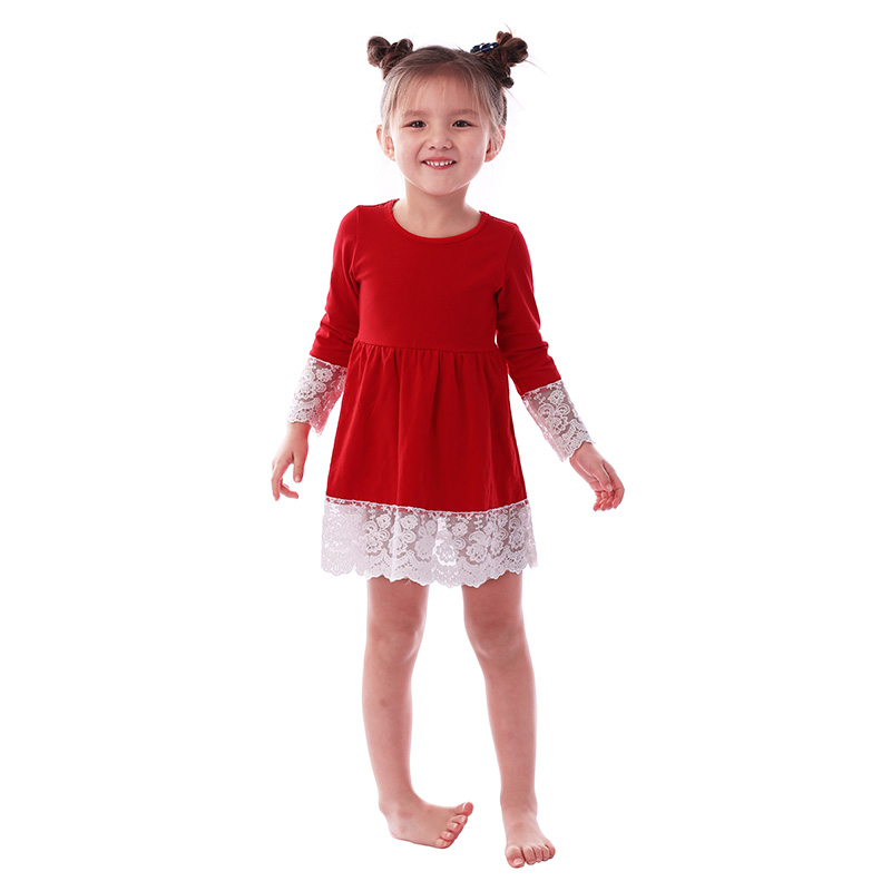 valentine long sleeve toddler baby frock design