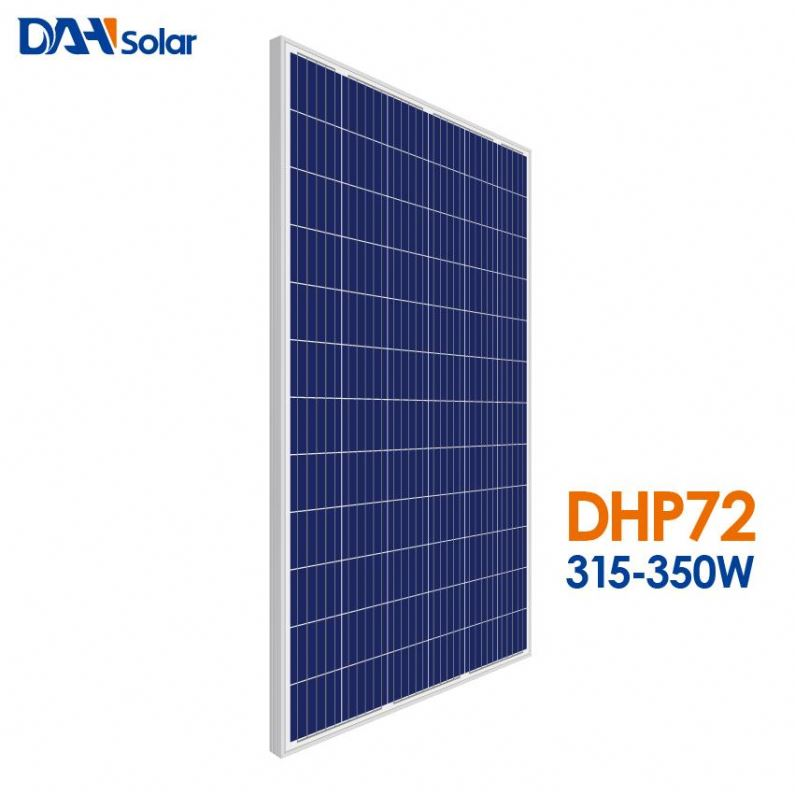 Dah Solar Solution Inmetro Painel Solar <strong>Poly</strong> 320w 325w 330w
