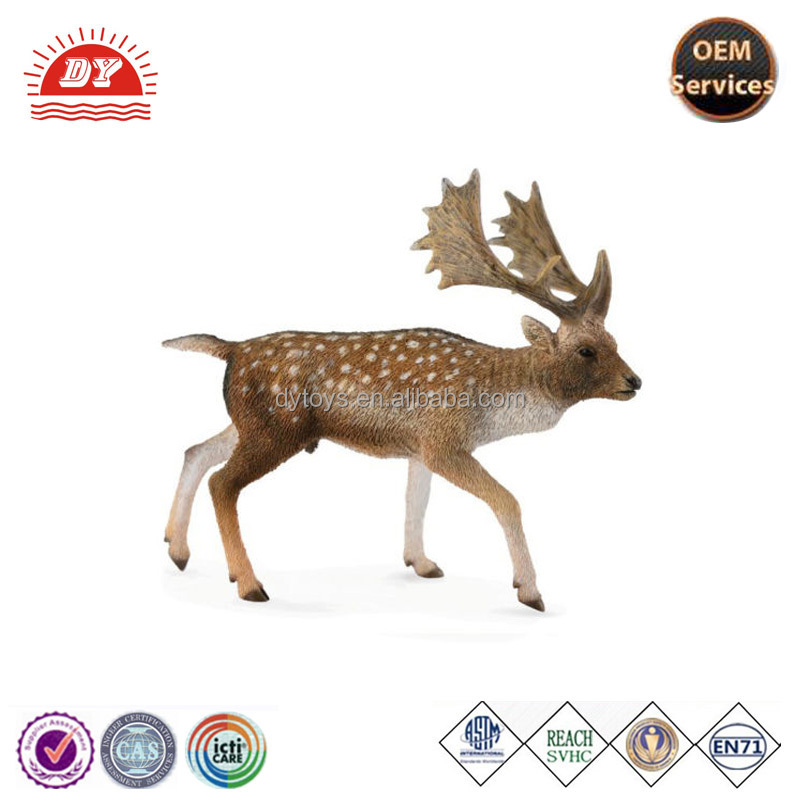 Fallow Deer Buck Realistic Toy plastic forest animals toys