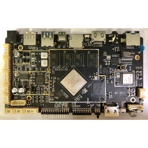 Customize Quad Core A53 CPU Rockcip RK3399 2+16GB Motherboard For Face Recognition Industry