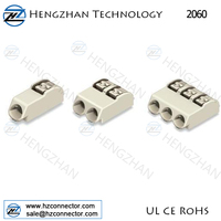 Push button LED lighting terminal SMD Wago 2060 PCB connectors