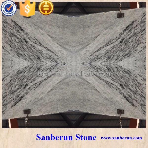 Top Grade Ice Grey Onyx Marble Stone