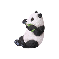 Customized garden animal ornaments resin panda ornaments