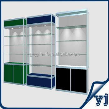 2014 Fashionable Aluminium Glass Kiosk Cabinets,Wall Mounted Led ...