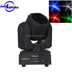 china moving heads 4*10W RGBW 4-in-1 LED Mini Super Beam mini moving head
