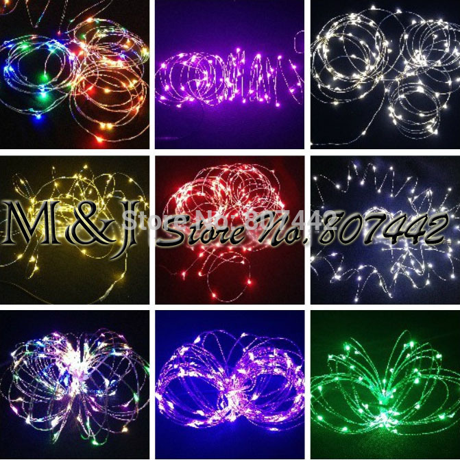 Copper wire light string Flexible folding home & garden decoration