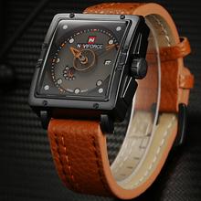 2016 New NAVIFORCE Fashion Watches Men Luxury Brand Men's Quartz Watch Date Waterproof Sport Man Clock Army Military Wrist Watch