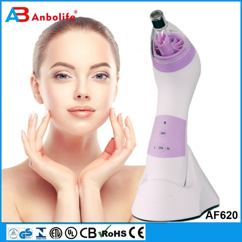 Anbolife New Tech Rechargeable Vacuum Negative Pressure Suction Facial Pore Acne Blackhead Remover Cleanser, Comedone Extractor