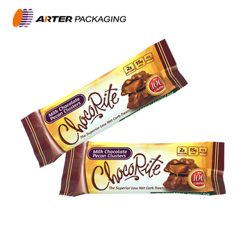 Custom Printed Automatic Heat Sealing Metalized Plastic Candy Bar Packaging Wrapper Bags Buy Candy Wrapper Chocolate Wrapper Candy Wrapper Bags