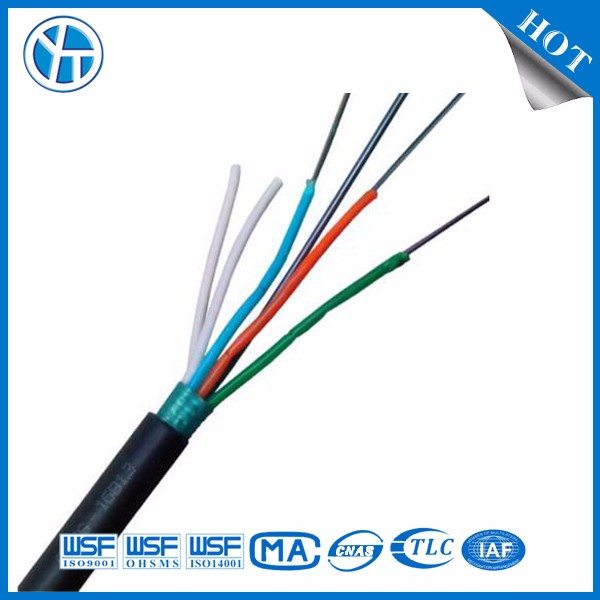 Outdoor 36 Core Direct Buried Armored Optical Fiber Cable