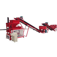 Hor selling wt1-10 earth brick machine price / sy1-10 red clay brick making machine small scale industry machine