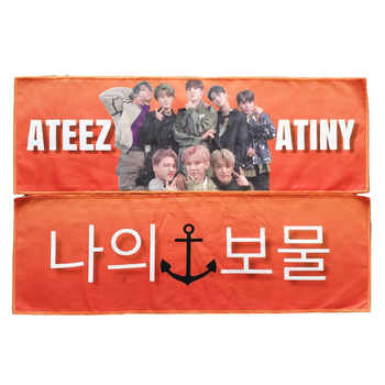 Custom Print Double Sided Printed Paper Kpop Slogan Banner towel, View  paper banner, OEM Product Details from Rugao Stano Trade Co , Ltd  on