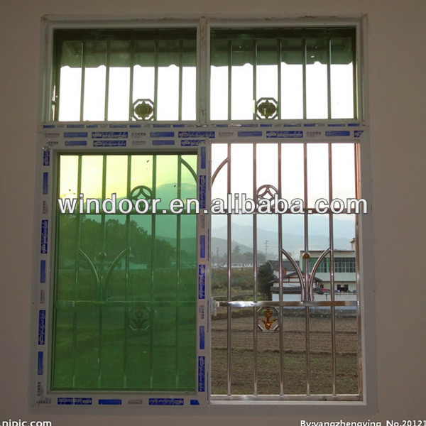 House Window Design Pvc Modern Grill Buy Product Alibaba Image