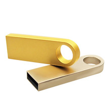 Oro Su Misura usb IMPERMEABILE <span class=keywords><strong>Flash</strong></span> drive di <span class=keywords><strong>memoria</strong></span> 4 GB 8 Gb 16 gb Metallo Mini Pen drive