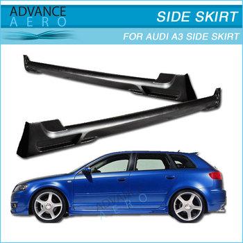 2006-2009 Audi A3 Ti̇p-a Poli Üretan Yan Etek Bodykit 2 Adet - Buy Audi A3  06 07 08 09 Için Yan Etekler,Audi A3 Için Gövde Kiti,Araç Gövde
