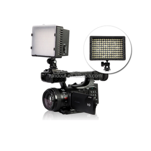 Nanguang CN-160 led beads high brightness video camera studio light 1400lum 5600k temperature with stepless dimming function