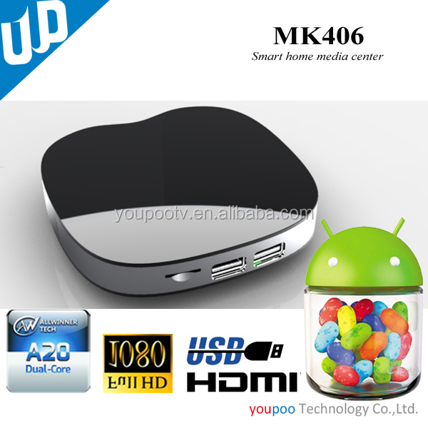smart tv box with awllinner a20 android 4.2 tv box wholesale dual Core Android TV Box