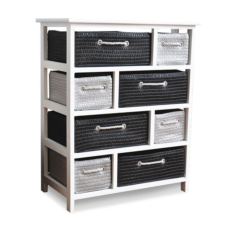 basket drawers wicker bed clothes unique casual of organizer drawer dog