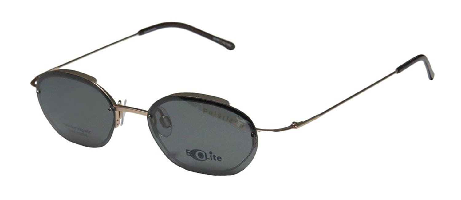 a3fedec696 Get Quotations · Elite Eyewear Evolite 103 Mens Womens Designer Half-rim  Sunglass Lens Clip-Ons