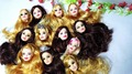 5pcs Foreign Trade Original Heads For Barbie Dolls DIY Birthday Gifts Mix Style Dolls Heads Factory