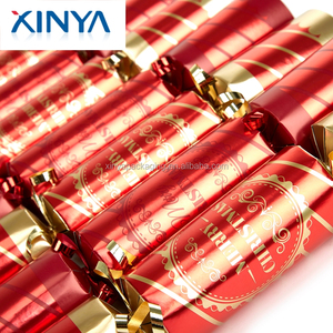 Cracker Christmas.Xinya Best Selling Products Novelty Christmas Cracker Bon Bons With Gift And Snaps