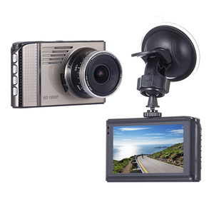 China Manufacturer FHD 1080P Dash Camera 3 Inch TFT LCD Full HD 1080P Vehicle Blackbox DVR