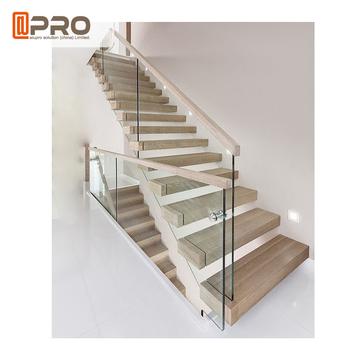 Haus Rahmen Innen Glas Treppengelander Innenraum Treppen Gelander