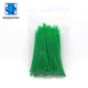China manufacturer High precision Nylon green color cable tie