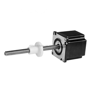 external drive TR8 TR10 screw nema 23 lead screw stepper motor linear