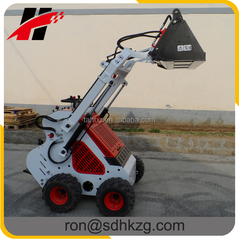 China mini front end loader for sale