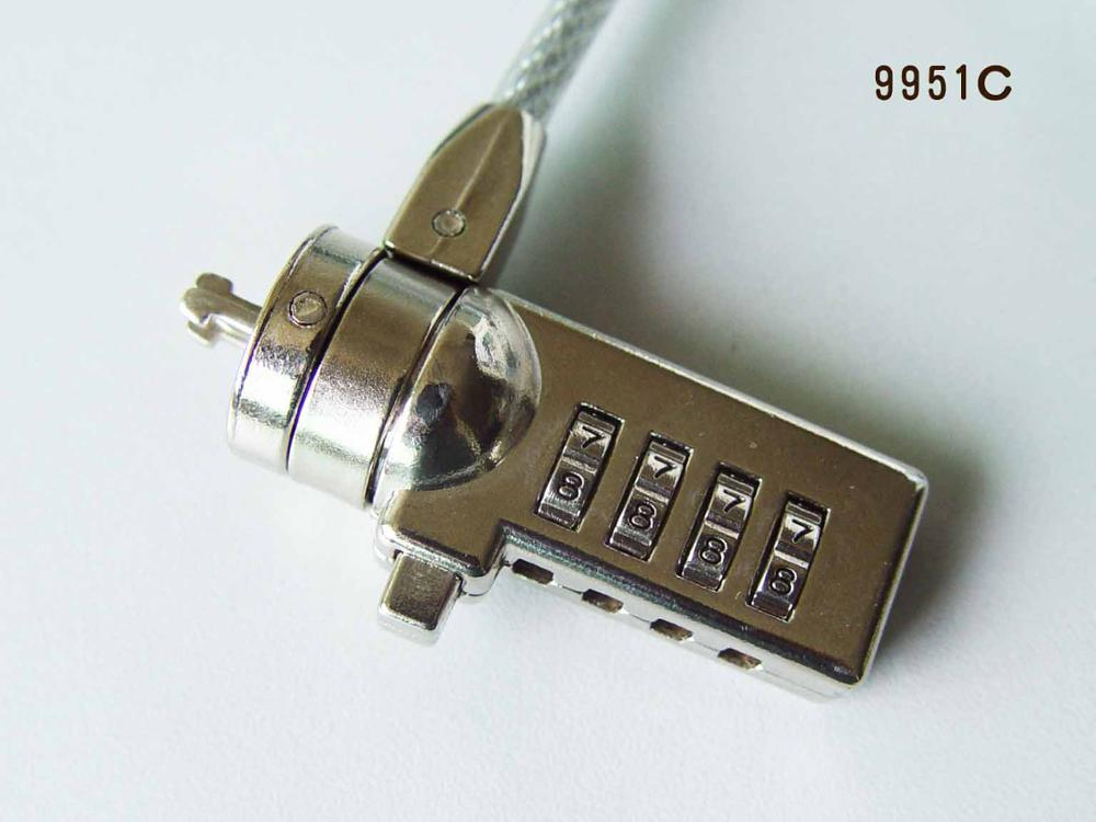 High Security Notebook Combination Lock Laptop lock