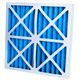 16x25x4 (3-5/8 Actual Depth) MERV 14 Plus Carbon AC Furnace Air Filters