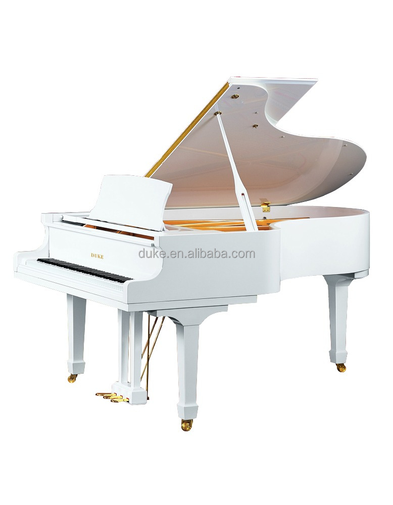 Duke Wooden Grand Piano Wit gepolijste 88 toetsen piano 158M1 te koop