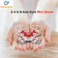 Mini Drone 4 Colors Small Pocket Drone FQ777 124 2 4G 6 Axis Gyro 4CH Headless