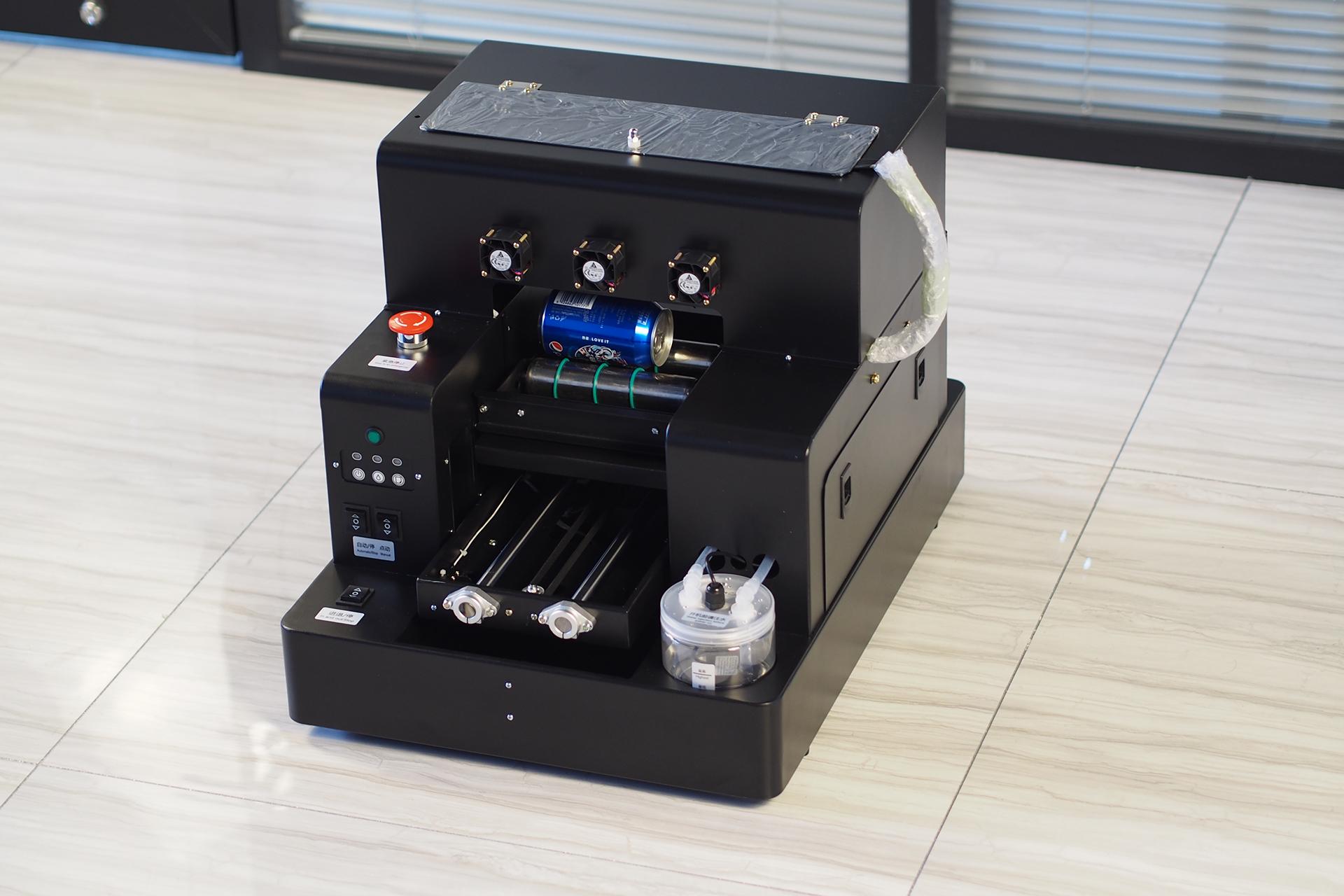 Digitale drukmachine A4 prijs telefoon case fles sylinder drukmachine uv printer