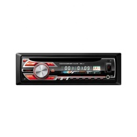 Hot selling single 1 din bus car truck DVD player with AM FM BT car stereo with USB fast charging